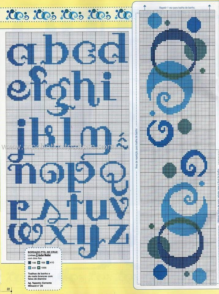 Crochet Stitches Letters : ... 30, 2016 Crochet , Crochet Letter Patterns , Free Patterns No comments