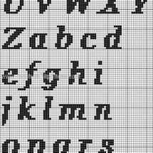 Crochet Letter Patterns Part 2 23