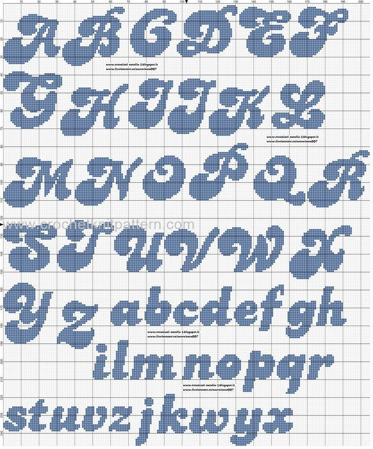 Crochet Letter Patterns Archives Page 2 Of 3 Beautiful Crochet