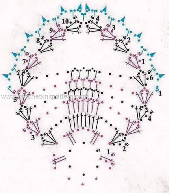 Вязание пасхальной корзинки с описанием 43