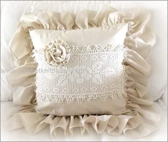 Free Crochet Pillow Patterns For Beginners : Free Pillow Crochet Patterns Beautiful Crochet ...