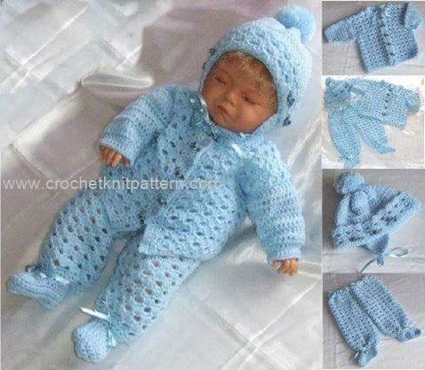 Croatia Knitting Patterns : Baby Crochet Patterns Part 4 Beautiful Crochet Patterns and Knitting Patt...