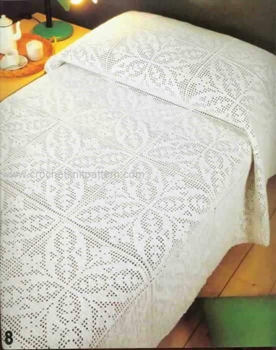 Crochet Bedspread Patterns - Beautiful Crochet Patterns and Knitting ...