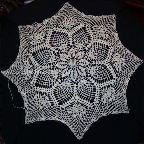 Umbrella Knitting Pattern : Crochet umbrellas beautiful patterns and