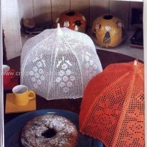 Crochet Umbrellas