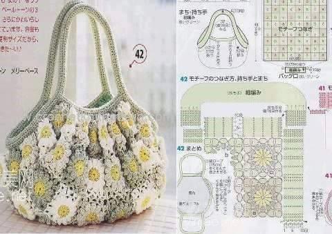 New Free Crochet Bag Patterns Archives Beautiful Crochet Patterns