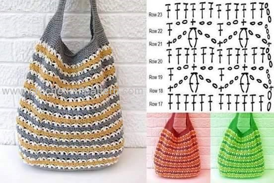 Free Crochet Bag Patterns Part 4 Beautiful Crochet Patterns And