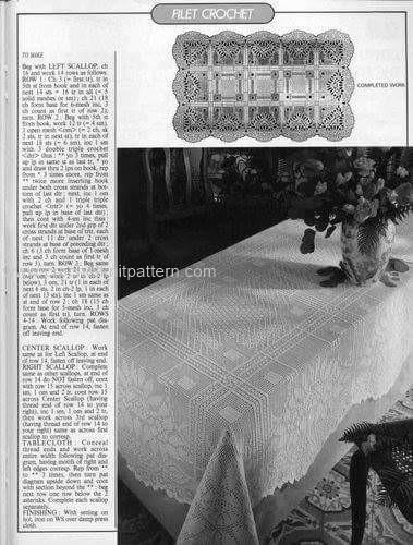 Home Decor Crochet Patterns Part 15 Beautiful Crochet