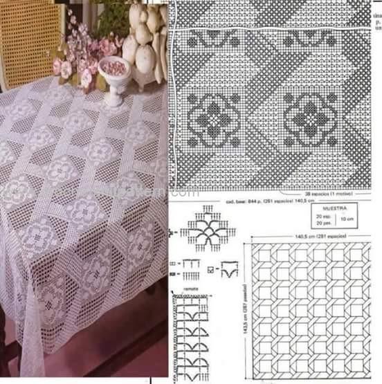 Home Decor Crochet Patterns Part 16