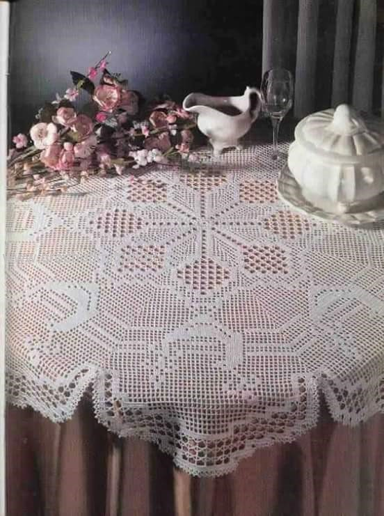 Home Decor Crochet Patterns Part 16 Beautiful Crochet