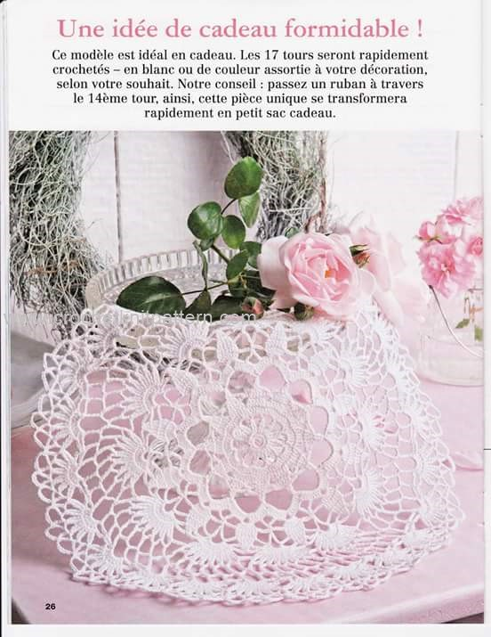 Home Decor Crochet Patterns Part 6 Beautiful Crochet Patterns and ...