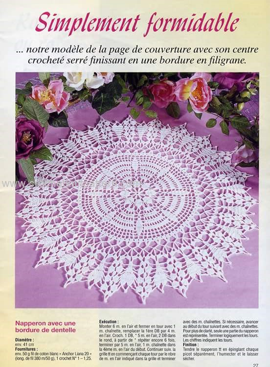 Home Decor Crochet Patterns Part 6 | | Beautiful Crochet Patterns and ...
