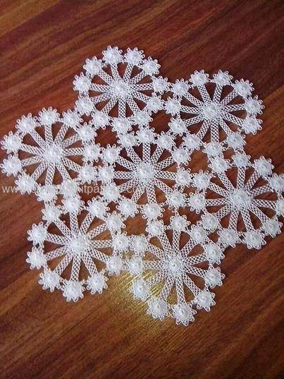 Home decor crochet patterns part 7 beautiful crochet for Crochet decorations for home