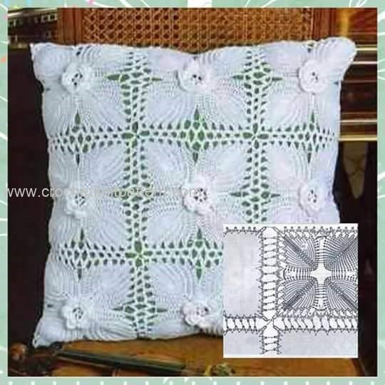 Beginner Crochet Pillow Patterns : Crochet Pillow Patterns Part 3 Beautiful Crochet ...