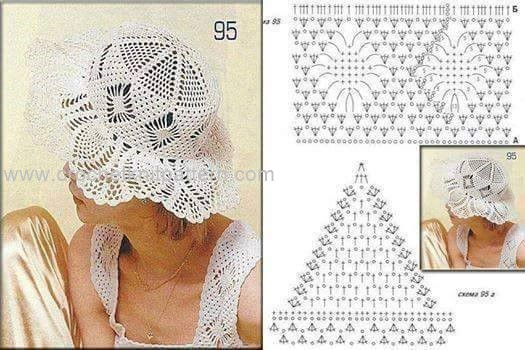 Crochet Sun Hat Patterns Beautiful Crochet Patterns And Knitting
