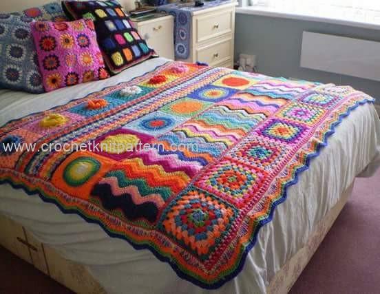 Knitted Bedspread Patterns : Crochet Bedspread Patterns Part 2 Beautiful Crochet Patterns and Knitting...