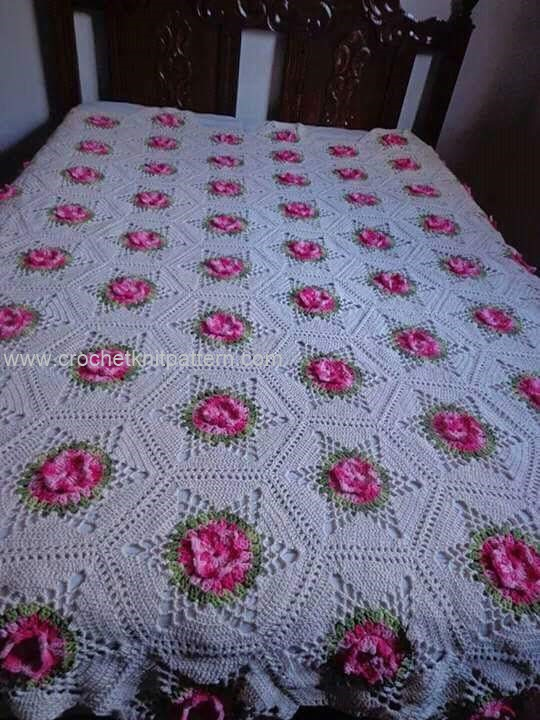 Crochet Bedspread Patterns Part 2 Beautiful Crochet