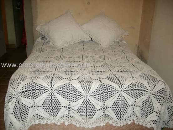 Crochet Bedspread Patterns Part 2 - Beautiful Crochet Patterns and ...