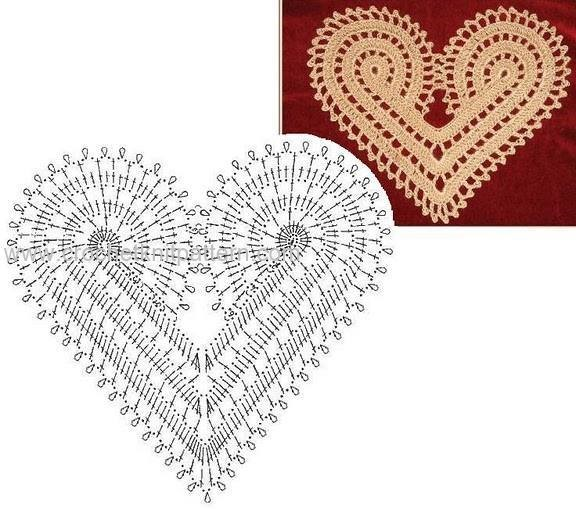 Heart Crochet Patterns Beautiful Crochet Patterns and ...