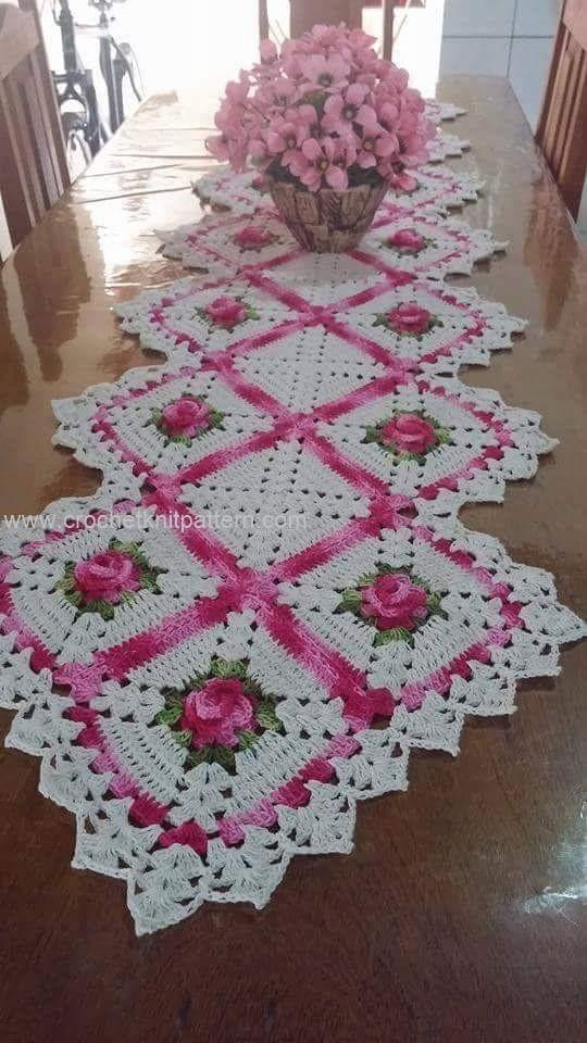 Home Decor Crochet Patterns Part 19 | | Beautiful Crochet ...