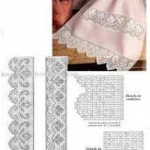Lace Edging Crochet Patterns Part 4