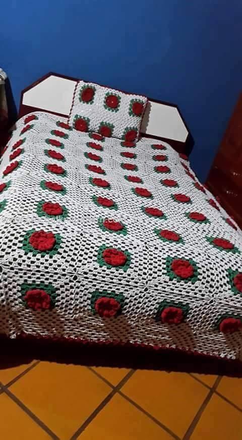 Crochet Bedspread Patterns Part 4 Beautiful Crochet Patterns And