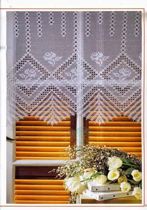 Crochet Curtain Patterns | | Beautiful Crochet Patterns and ...