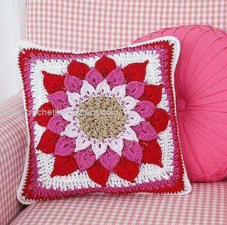 Free Crochet Pillow Patterns For Beginners : Free Crochet Pillow Patterns Beautiful Crochet ...