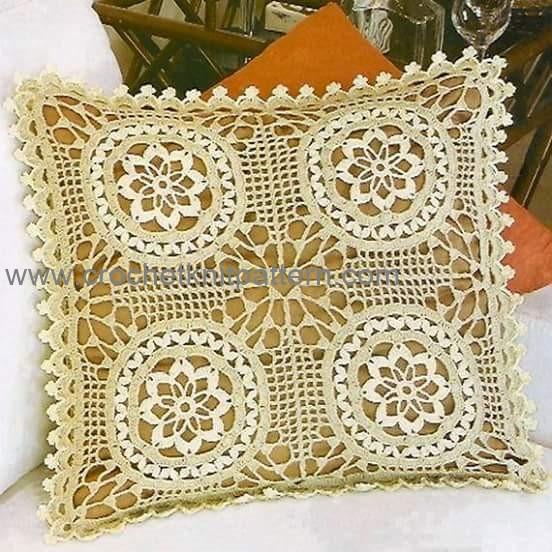 Pillow Beautiful Crochet Patterns And Knitting Patterns