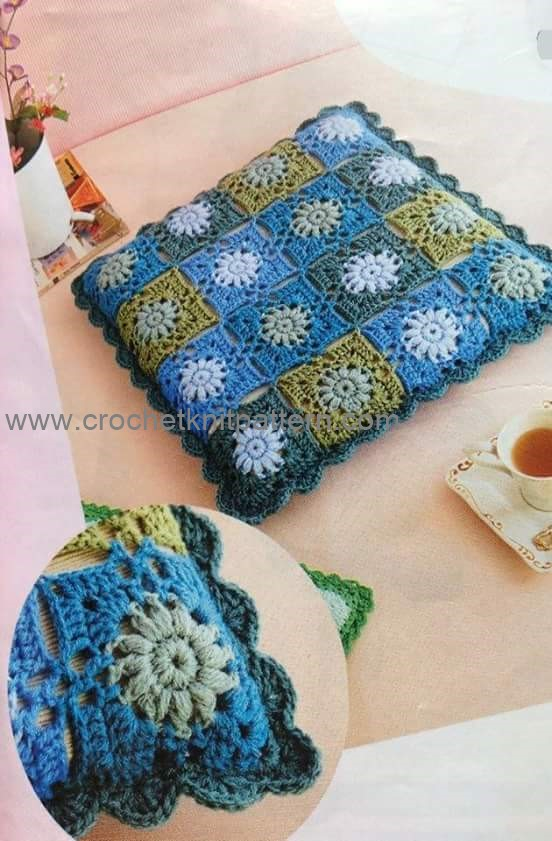 pillow beautiful crochet patterns and knitting patterns
