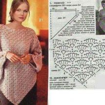 Shawl Crochet Patterns Part 6 10