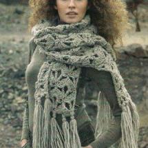 Shawl Crochet Patterns Part 6 11