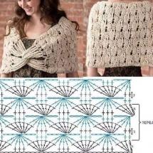 Shawl Crochet Patterns Part 6 14