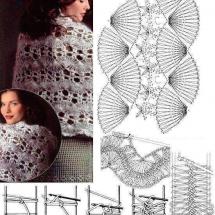 Shawl Crochet Patterns Part 6 32