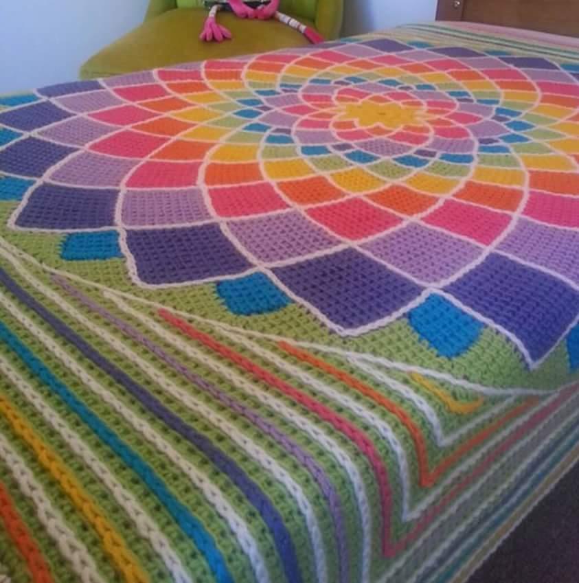 Crochet Bedspread Patterns Part 6 Beautiful Crochet ...