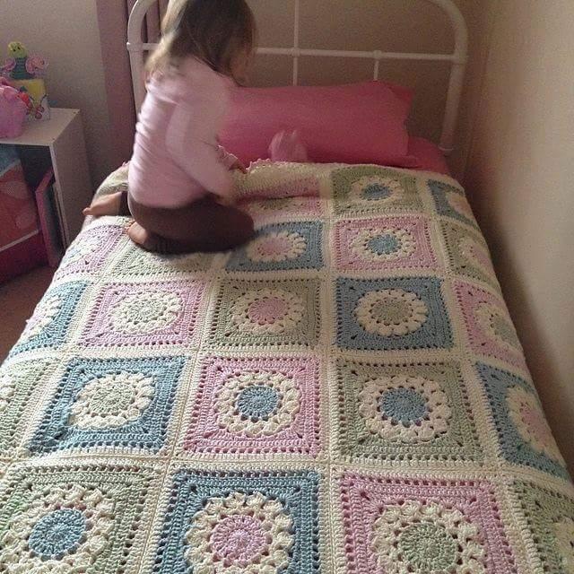 Crochet Bedspread Patterns Part 6 Beautiful Crochet