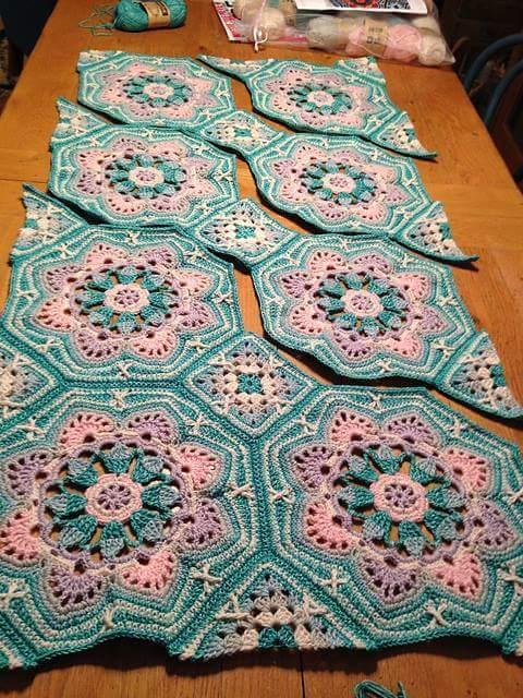 Crochet Bedspread Patterns Part 6 Beautiful Crochet Patterns And
