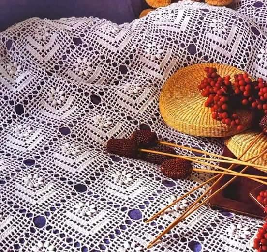 Crochet Bedspread Patterns Part 7 Beautiful Crochet Patterns And
