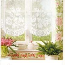 Crochet curtain patterns 2