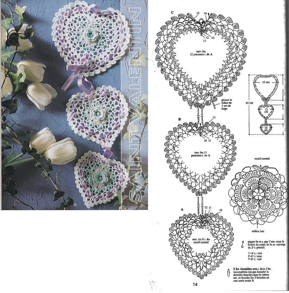 Heart Crochet Patterns Beautiful Crochet Patterns And