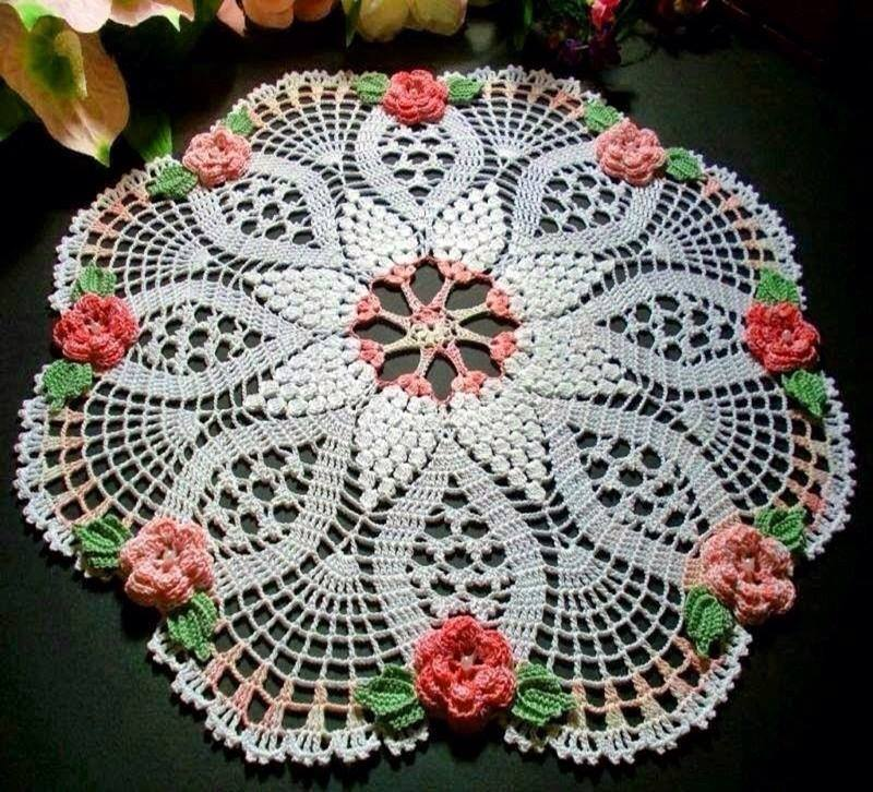 Home Decor Crochet Patterns Part 43 Beautiful Crochet