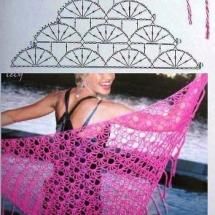 Shawl Crochet Patterns Part 10 8