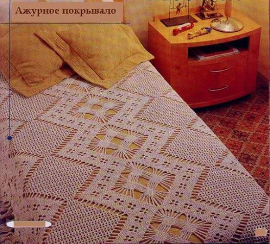 Crochet Bedspread Beautiful Crochet Patterns and Knitting Patterns