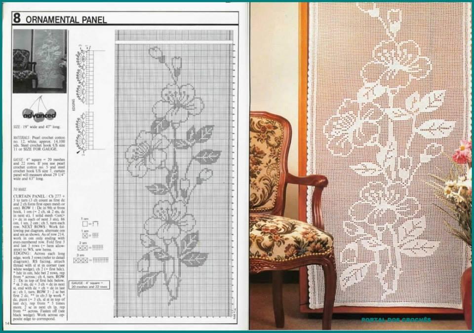 Crochet Curtain Patterns Part 6 Beautiful Crochet Patterns And