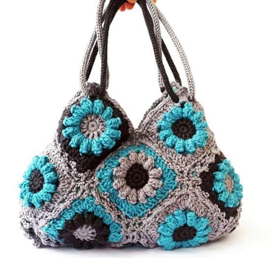 Crochet Tote Bag Tutorial Part 1 : Free Crochet Bag Patterns Part 16 - Beautiful Crochet ...