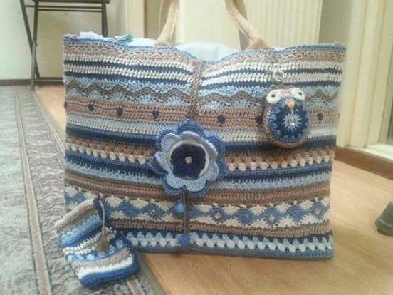 Free Crochet Bag Patterns Part 16 - Beautiful Crochet ...