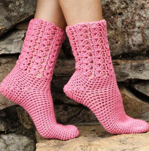 Free Crochet Sock Patterns Part 5 Beautiful Crochet Patterns And