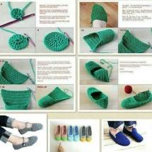 Free Crochet Sock Patterns Part 7