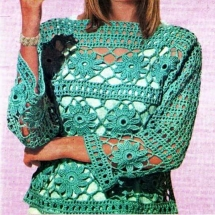 New Woman's Crochet Patterns Part 72