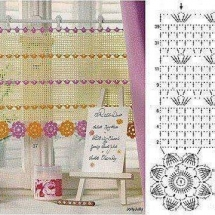Crochet Curtain Patterns Part 10